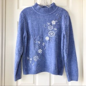 Alfred Dunner | Vienna Floral Chenille Sweater